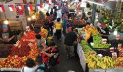 Mercado De Abastos Tirso De Molina, Santiago, Chile