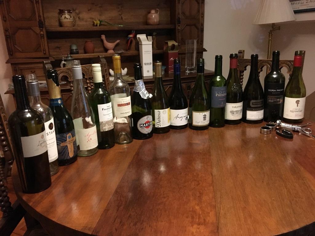 Wine Tasting Night, Santiago, Chile
