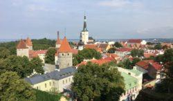 View over Tallinn, Estonia