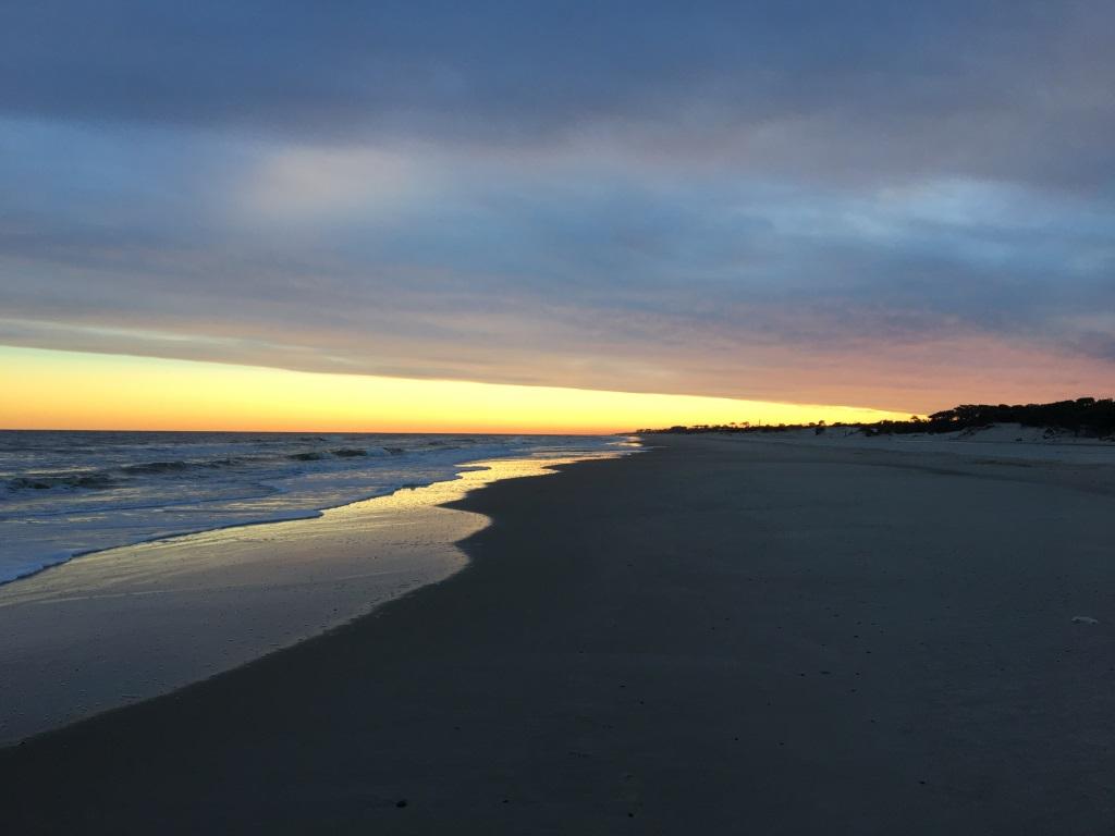 Shore at Sunset, La Floresta, Uruguay