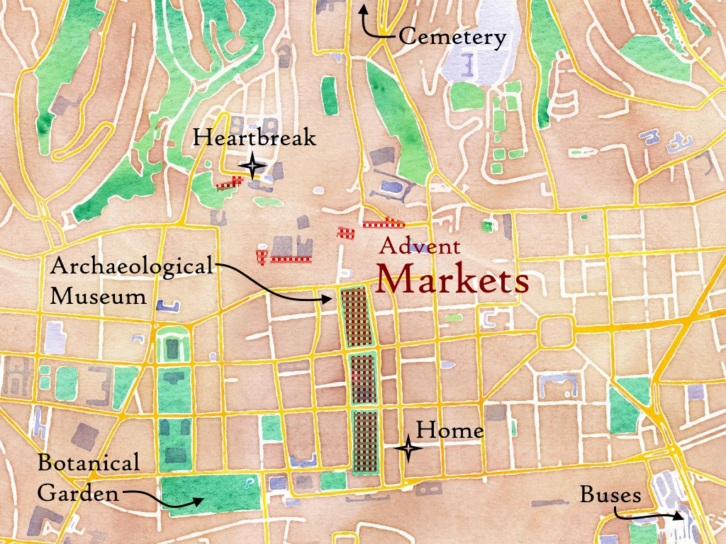 Zagreb, Croatia Map