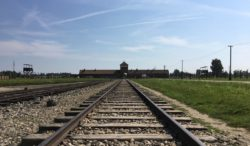 Death Gate of Birkenau, Oswiecim, Poland