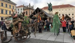 Middle Ages Christmas Market, Munich, Germany