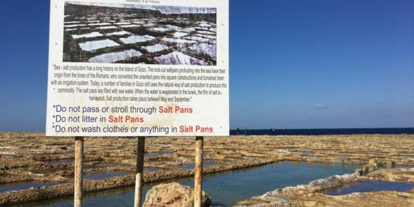 Salt Pan Warnings