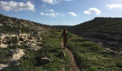 Hiking in Gozo, Malta