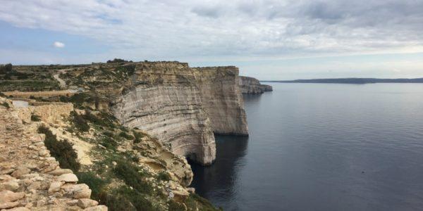 Atop the Sanap Cliffs