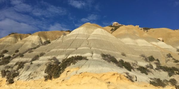 Painted Hills under Fort Chambray