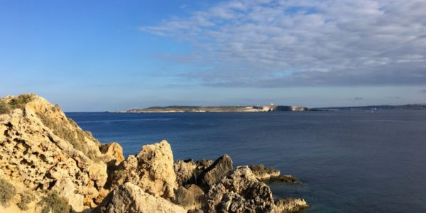 View of Malta from Mgarr
