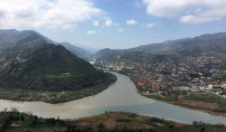 Merging Rivers, Mtskheta, Georgia