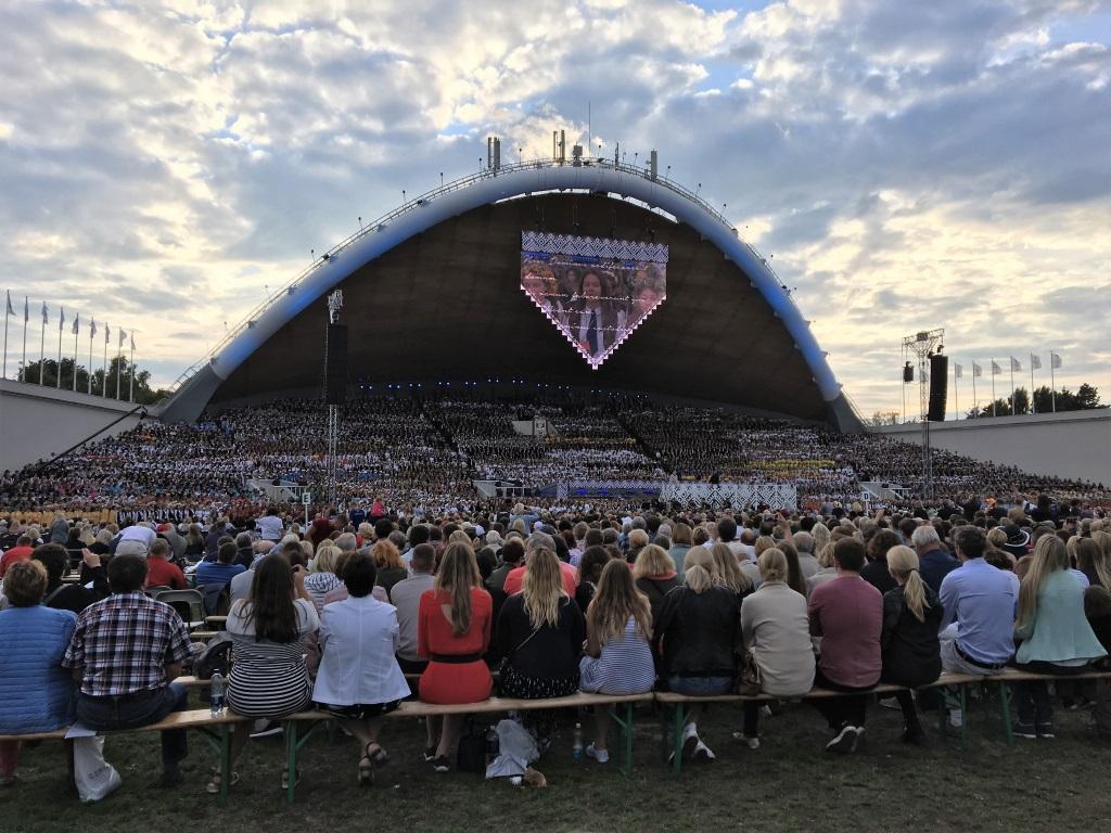 Song Festival, Vilnius, Lithuania