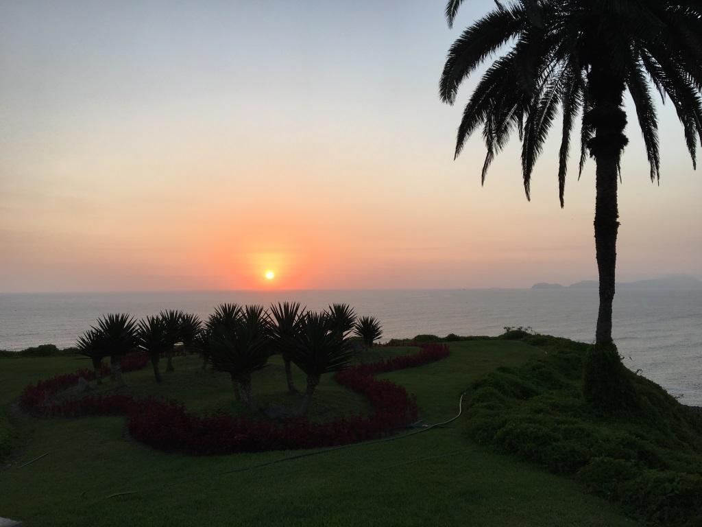 Sunset, Lima, Peru