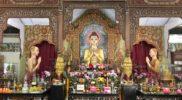 Buddha in Dhammikarama Burmese Temple