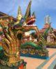 Naga Statues at Wat Chaiyamangalaram