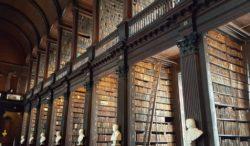 Trinity College Library, Dublin, Ireland