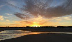 Orange Sunset, La Floresta, Uruguay