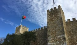 Castelo de Sao Jorge, Lisbon, Portugal