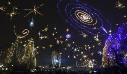 Christmas Stars, Ljubljana, Slovenia