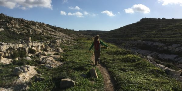 Hiking in Gozo