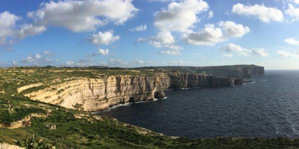 Cliffs of Western Gozo