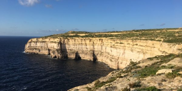 Cliffs of Northwestern Gozo