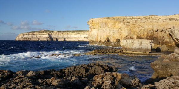 Former Site of Azure Window
