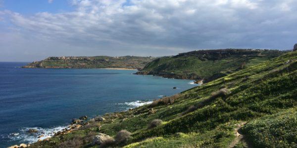 Looking toward Ramla Bay