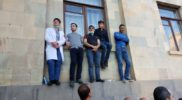 Med Students at the Protests