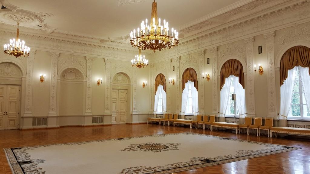 Presidential Palace Ballroom, Vilnius, Lithuania