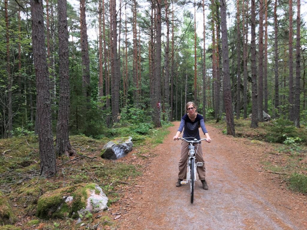 Achy Bike Ride, Eskilstuna, Sweden