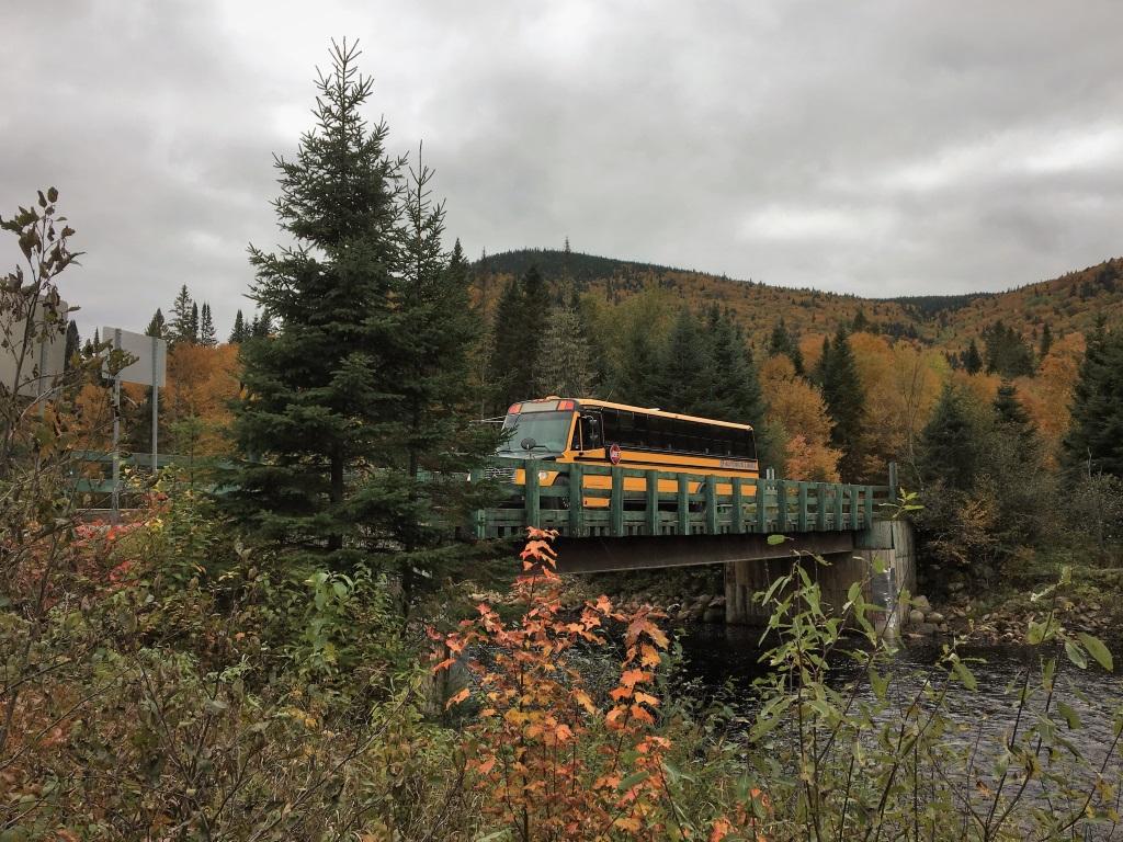 Park Shuttles, Jacques Cartier National Park, Canada