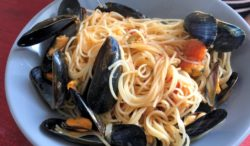 Mussels in Pasta, Vannes, France