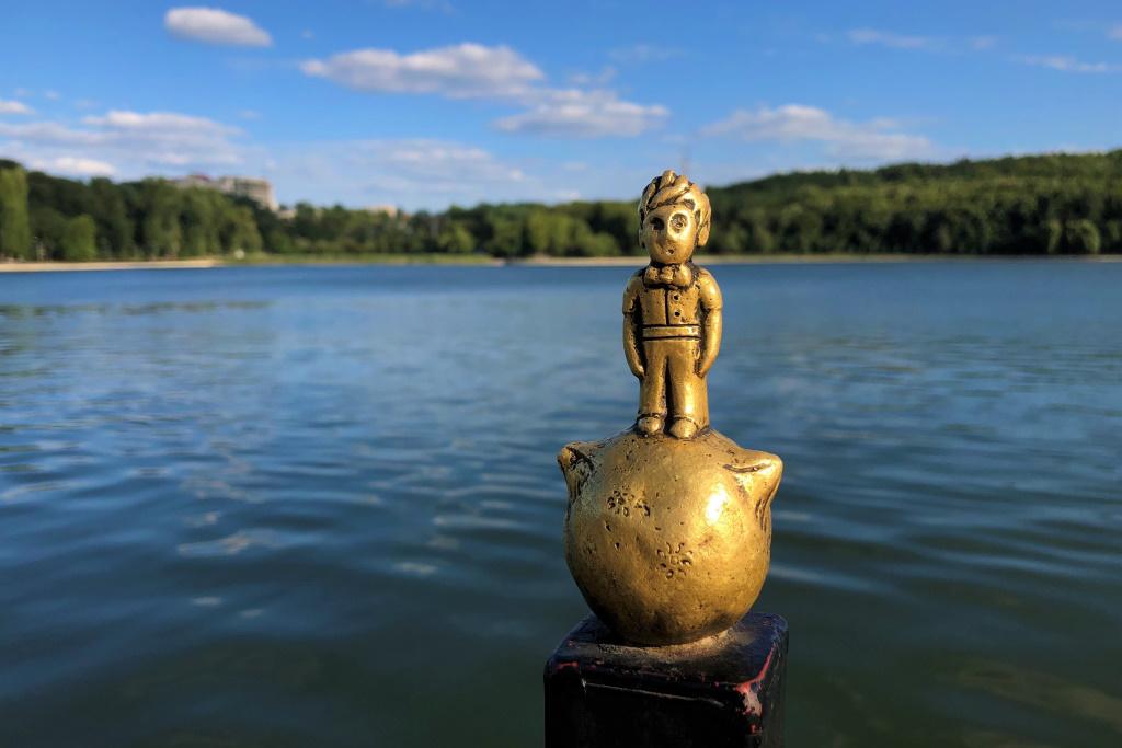 Statue of the Little Prince, Chisinau, Moldova