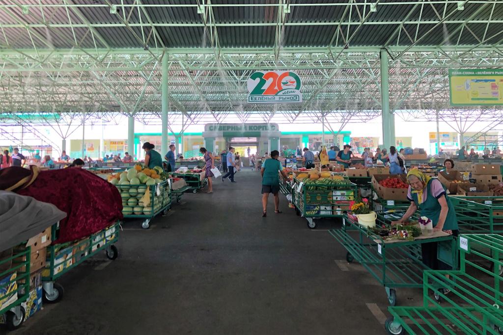 Green Market, Tiraspol, Transnistria