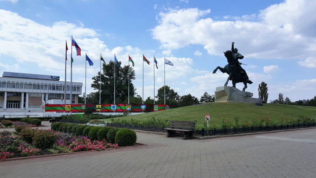 Monument to Suvorov, Tiraspol, Transnistria