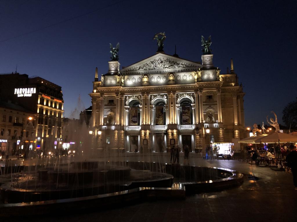 Lviv Opera, Ukraine