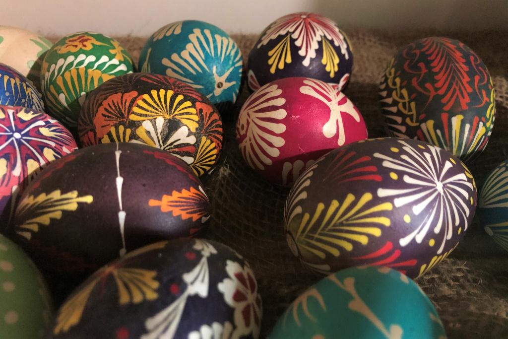 Colorful Easter Eggs, Lviv, Ukraine