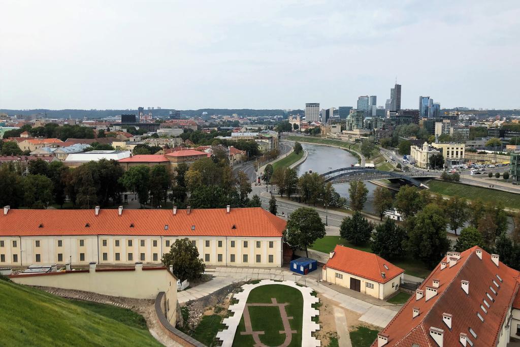 View from Gediminas, Vilnius, Lithuania
