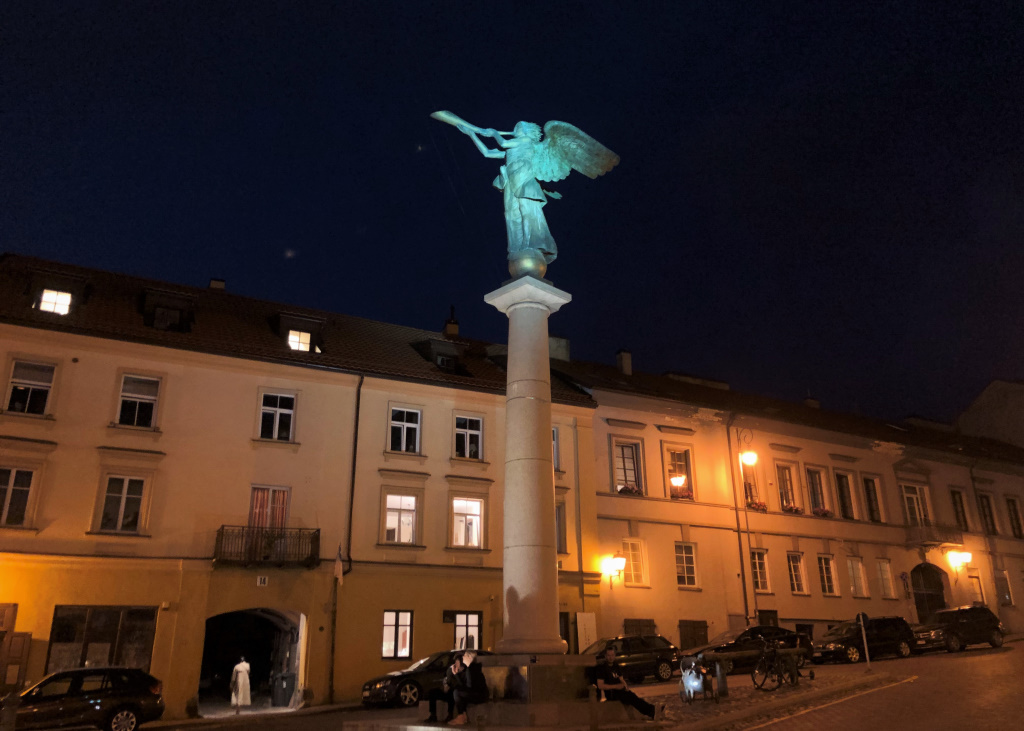 Angel of Uzupis, Vilnius, Lithuania