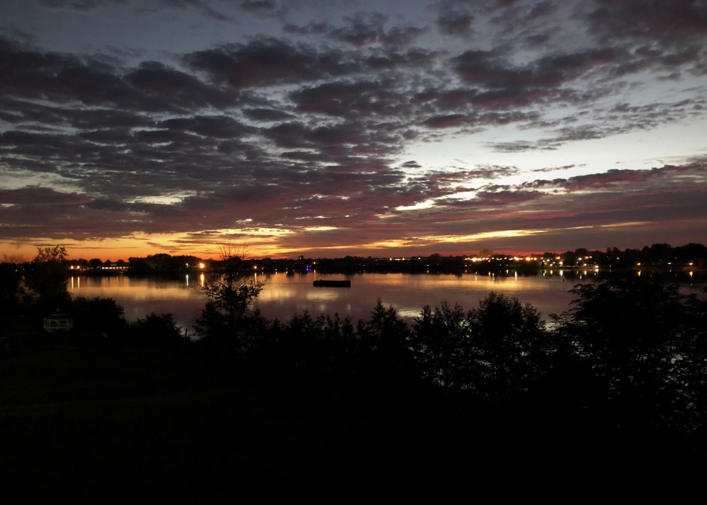 Niagara River Sunrise, Niagara Falls, New York