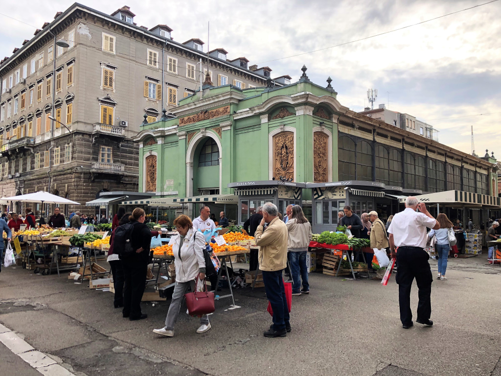 Central Farmer's Market, Rijeka, Croatia