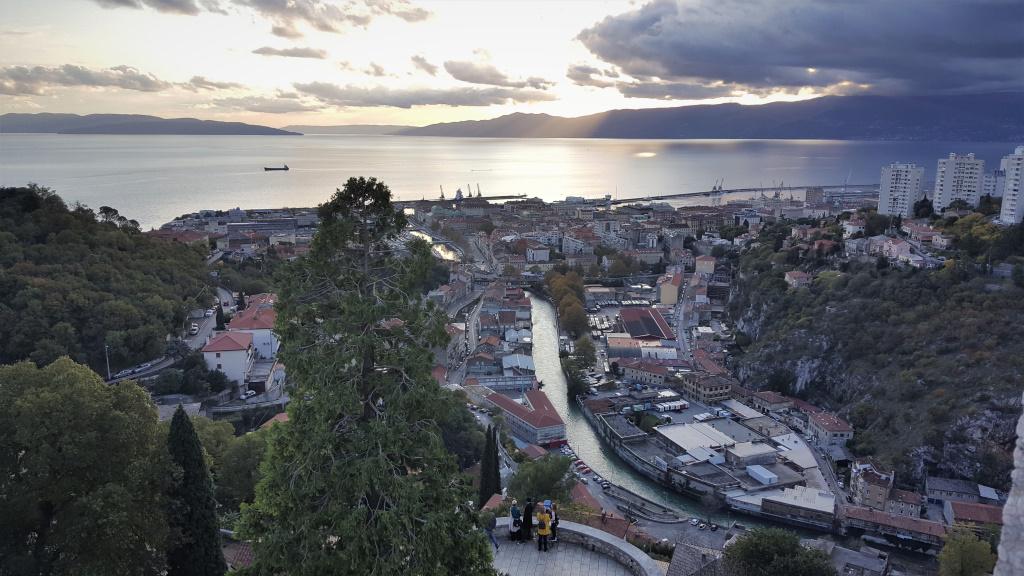 View from Trsat, Rijeka, Croatia