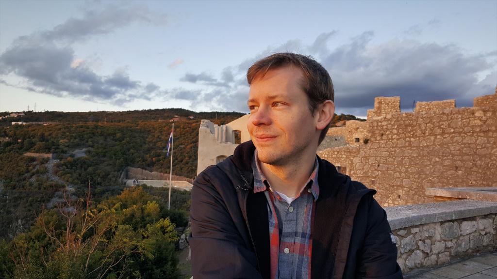 Kevin at Trsat, Rijeka, Croatia