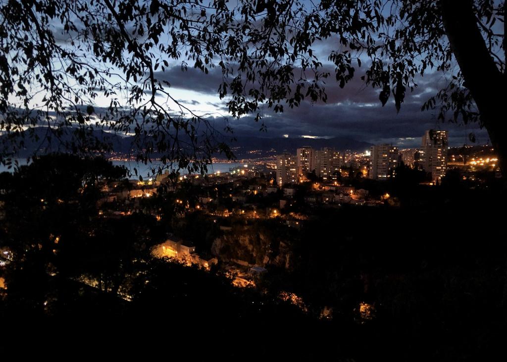 Rijeka at Night, Croatia