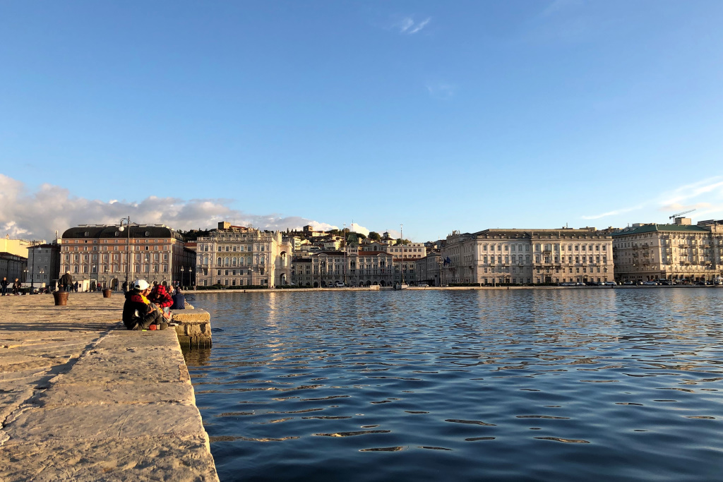 Waterfront, Trieste, Italy