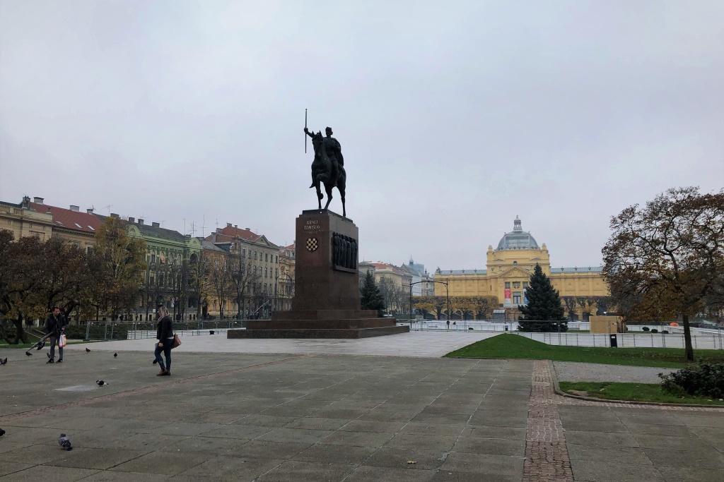 King Tomislav Square, Zagreb, Croatia
