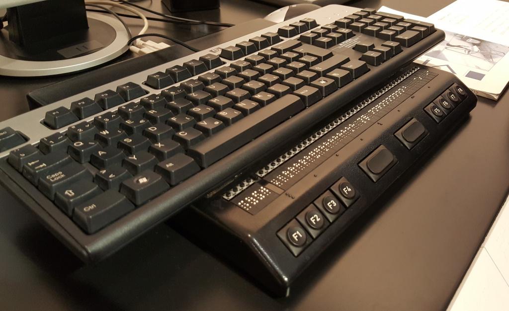 Braille Keyboard, Zagreb, Croatia