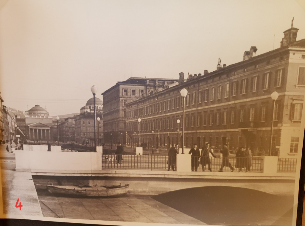 Canal Grande [then], Trieste, Italy