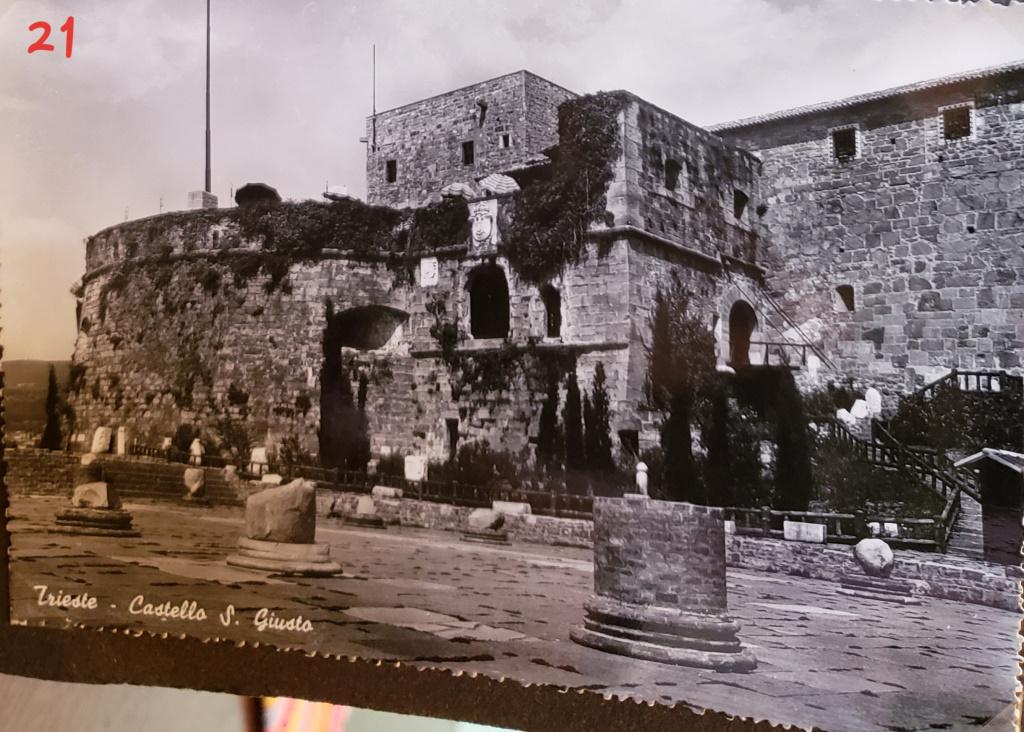 Castello di San Giusto [then], Trieste, Italy