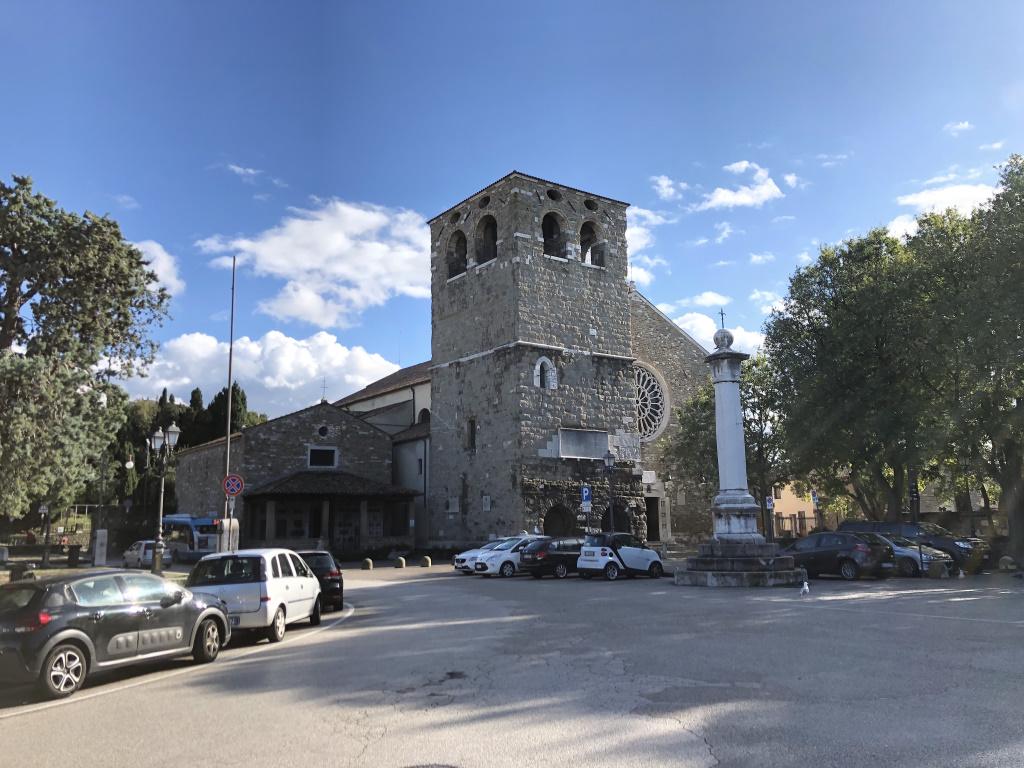 Cattedrale di San Giusto Martire [today], Trieste, Italy