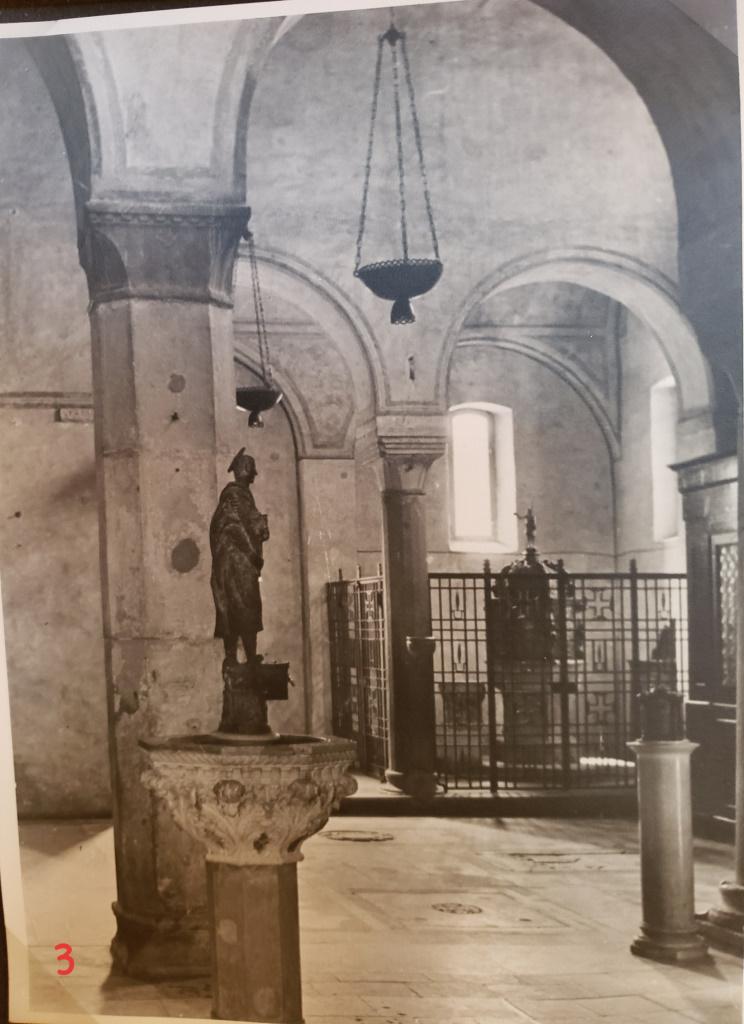 Inside Cattedrale di San Giusto Martire [then], Trieste, Italy